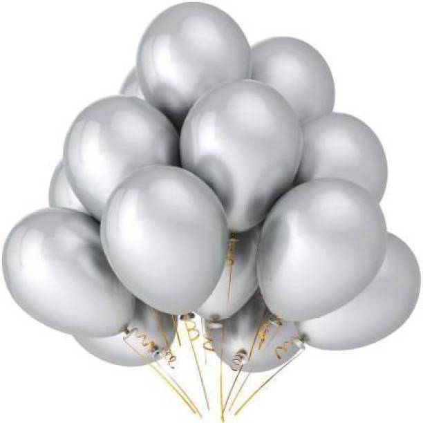 atul gift& toys Solid siver50 Balloon
