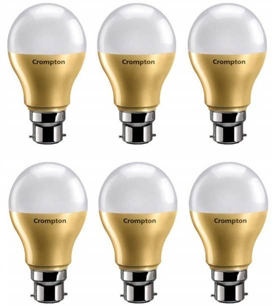CROMPTON 9 W Round B22 LED Bulb