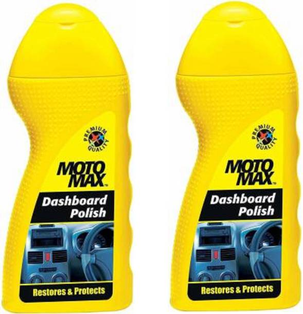 Motomax Liquid Car Polish for Dashboard