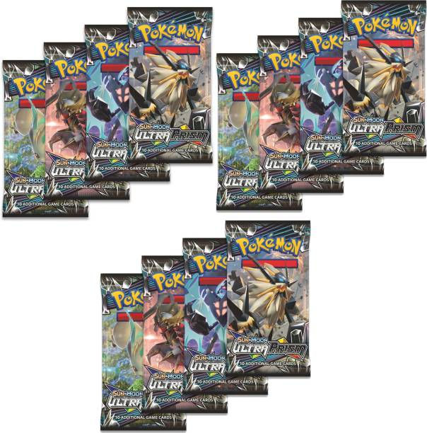 VK MART HIGH AND BEST QUALITY ULTRA PRISM CARDS (PACK OF 12)