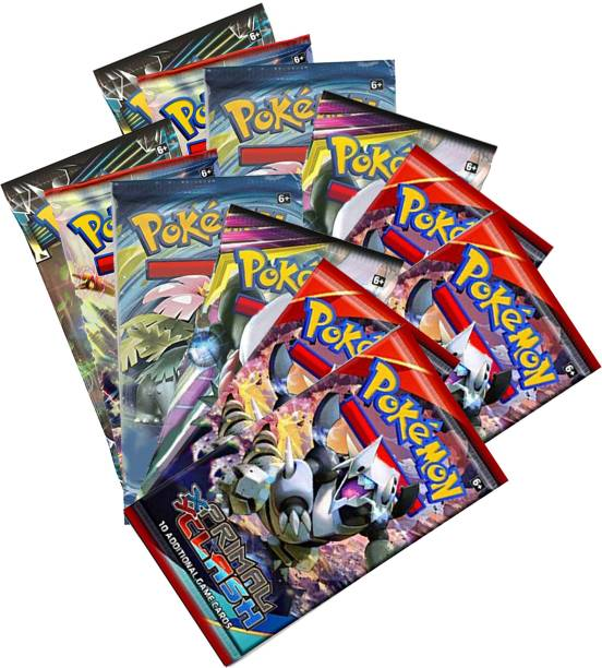 VK MART BOOSTER PACK FUN SUN AND MOON PRIMAL CLASH CARDS (PACK OF 12)