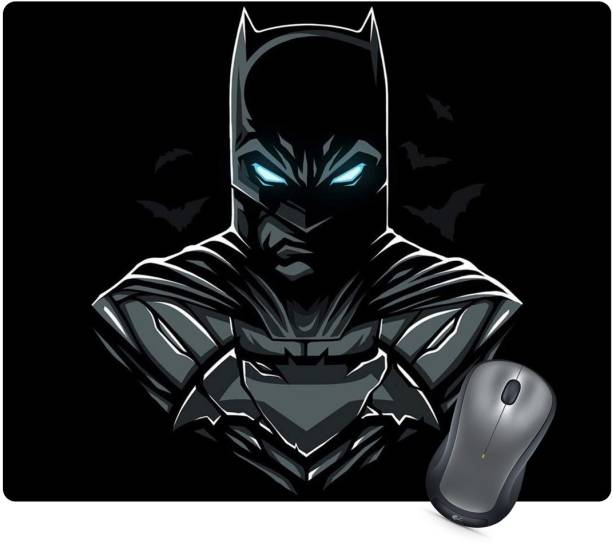 Golden Feather Anti Skid Batman Printed Designer Mousepad 234 Mousepad