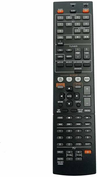 LipiWorld RAV491ZF30320 AV Receiver Radio Remote Control for  Yamaha Remote Controller