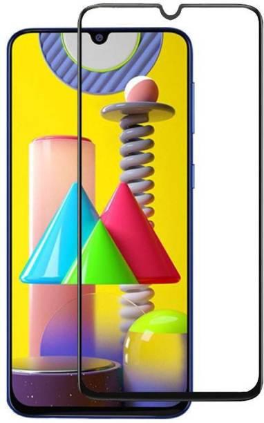 EASYBIZZ Edge To Edge Tempered Glass for Samsung Galaxy M30S, Samsung Galaxy M31, Samsung Galaxy M21, Samsung Galaxy F41