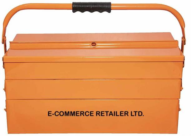 Tools Centre Metal Tool Box 5 Compartment of High Grade material for Hand Tools and Machine Tools ( ORANGE ) METAL TOOL BOX 5 COMPARTMENT FOR HAND TOOLS AND POWER TOOLS (ORANGE ) Tool Box with Tray