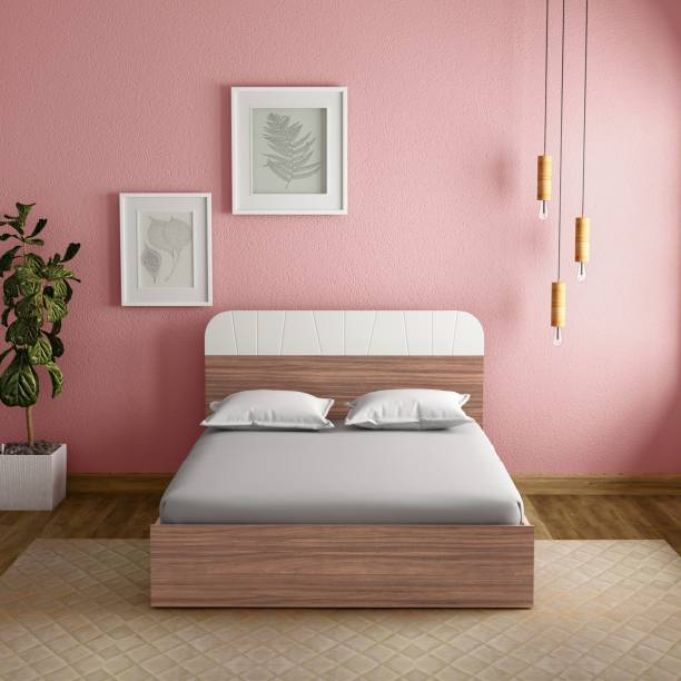 Godrej Interio Grove Engineered Wood King Drawer, Box Bed