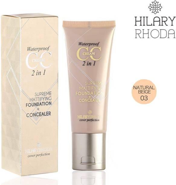 Hilary Rhoda Water proof CC cream Concealer