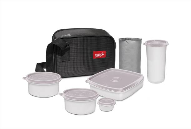 MILTON Prime Lunch Trendy Tiffin Set 5 Containers Lunch Box