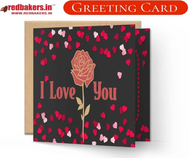 redbakers.in You Own My Heart Love Theme Greeting Card Greeting Card