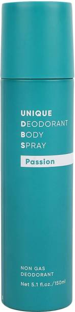 MINISO Unisex Non-Gas Deodorants Body Spray, 150ml (Passion) Deodorant Spray  -  For Men & Women