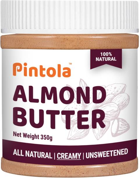 Pintola All Natural Almond Butter Creamy (Unsweetened) 350 g