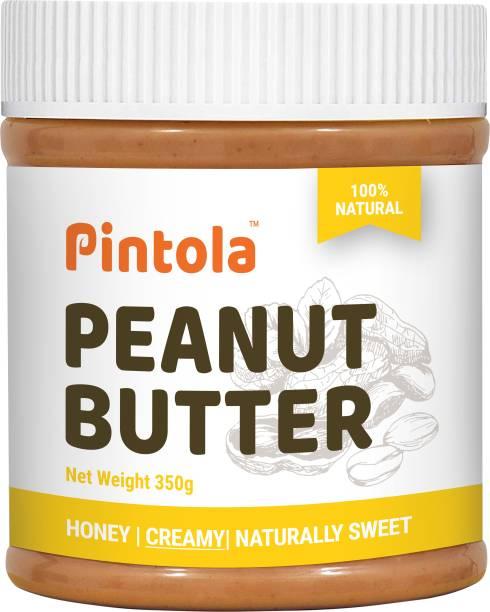 Pintola All Natural Honey Peanut Butter (Creamy) 350 g
