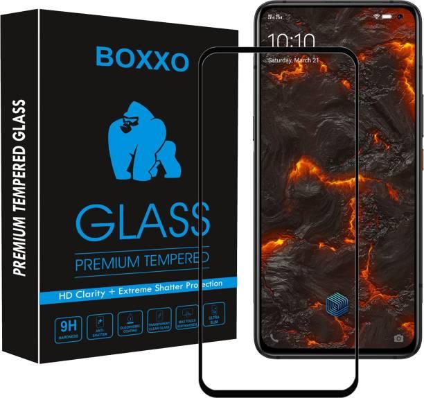 Boxxo Edge To Edge Tempered Glass for IQOO 3
