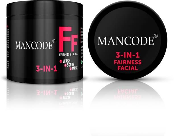 MANCODE 3 in 1 Fairness Facial Cream, 100gm