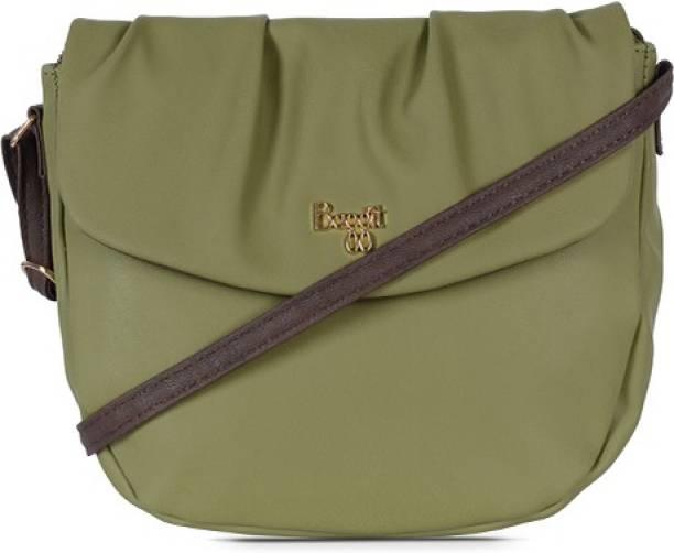 Baggit Green Sling Bag LP GARUD Y G Z AUPLIN LEAF