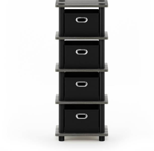 FURINNO Engineered Wood Free Standing Cabinet