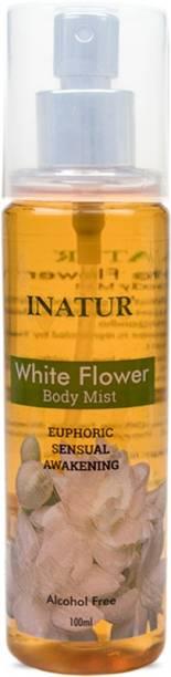 INATUR White Flower Body Mist  -  For Women