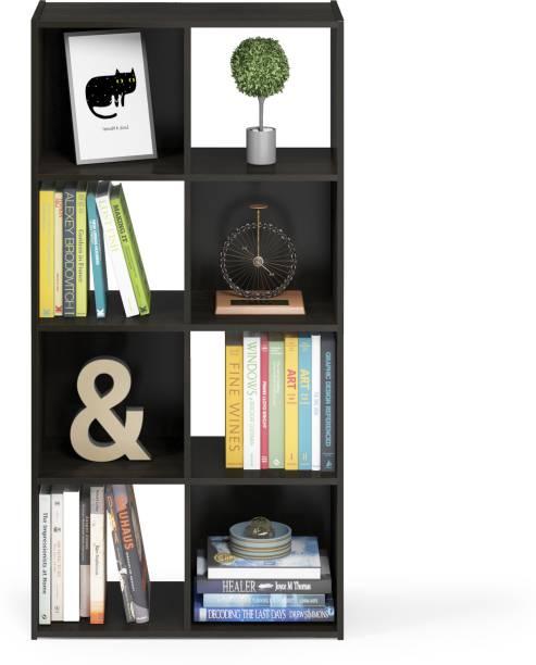 FURINNO Engineered Wood Semi-Open Book Shelf