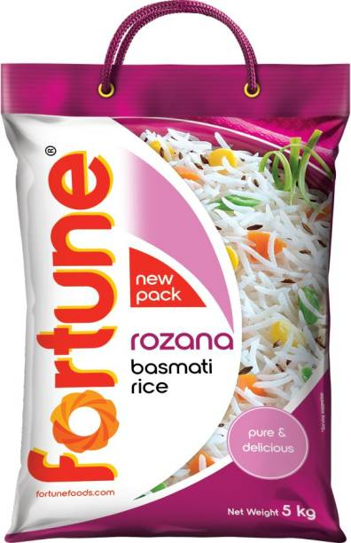 Fortune Rozana Basmati Rice (Medium Grain)
