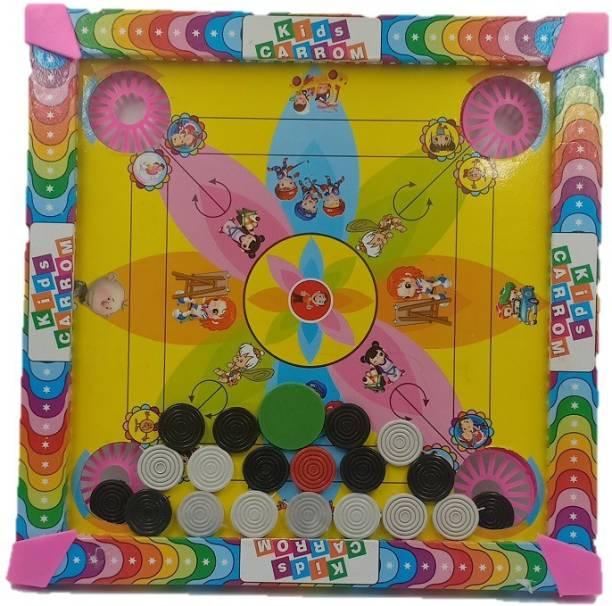 Kidsfun carrom board14*14 inch Carrom Board Board Game