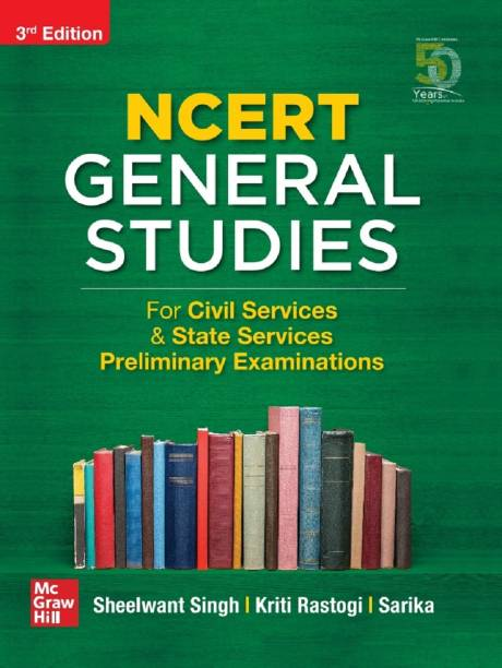 Ncert General Studies for Civil Services & State Services Preliminary Examinations