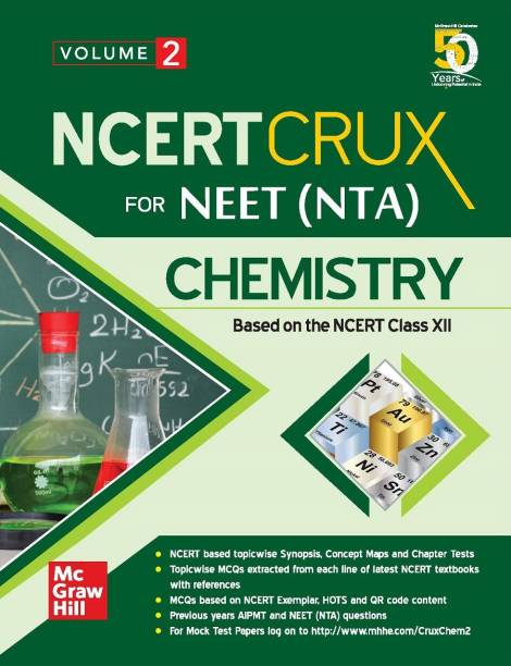 NCERT CRUX for NEET (NTA) Chemistry | Volume 2