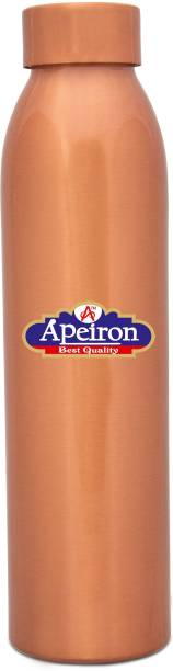 Apeiron Copper Water Bottle with New Stylish and Leak Proof Cap - 1000 ml 1000 ml Bottle
