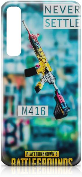 Accezory Back Cover for Samsung Galaxy A50 Back Cover, PUBG, GUN, GAME, BACK CASE