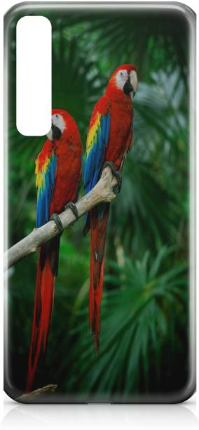 Accezory Back Cover for Samsung Galaxy A70s, LOVE, PARROT, mom dad