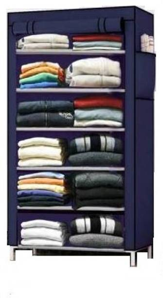 Rmerchants Multipurpose Storage PP Collapsible Wardrobe