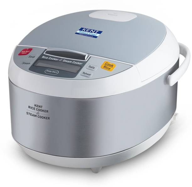 KENT 16012 Electric Rice Cooker with Steaming Feature