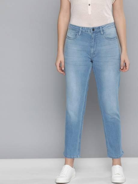 MAST & HARBOUR Boyfriend Women Blue Jeans