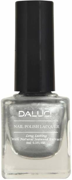 DALUCI fingers peach shiner coat nail kit Silver Frost