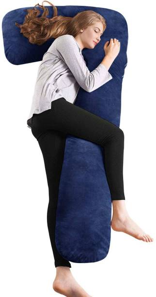 Jaipurlinen Microfibre Solid Body Pillow Pack of 1