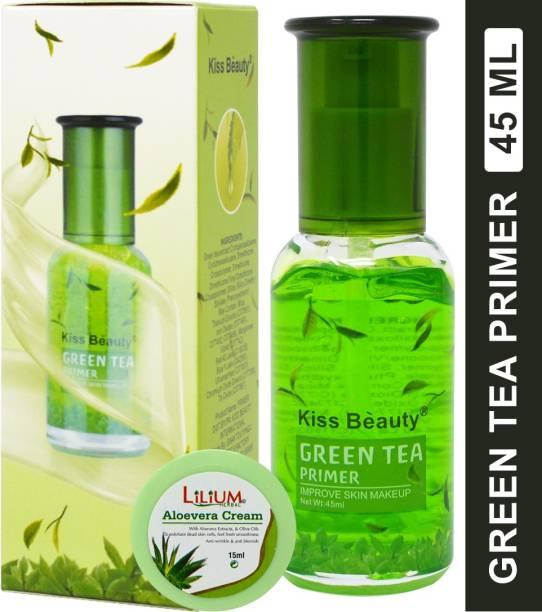 Kiss Beauty Green Tea Extract Primer-58488 Primer  - 45 ml