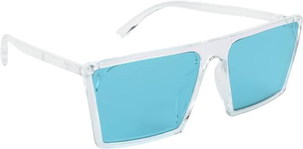 NuVew Retro Square, Wayfarer Sunglasses