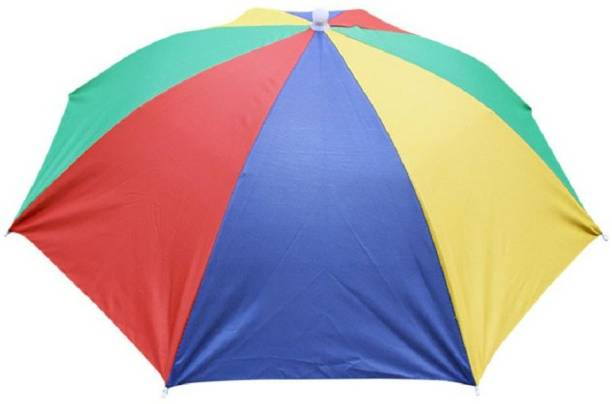 LAMRA Hands Free - Rainbow Colorful, Adjustable Elastic, Size Fits All Ages, Kids, Men & Women (Pack of 1) Umbrella
