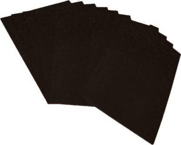 atul gift& toys 10 glitter set black a4 size