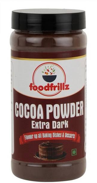 foodfrillz Cocoa Powder, Extra Dark and Unsweetened Cocoa Powder