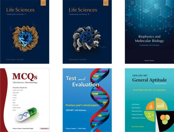 Pathfinder Academy CSIR-JRF-NET Life Sciences Six Book Combo Set - CSIR-JRF-NET Life Sciences