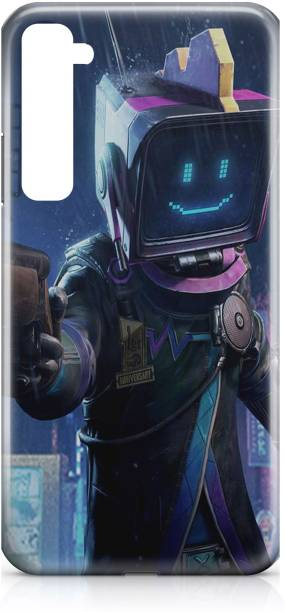 Accezory Back Cover for Realme X2 Back Cover-PUBG-GUN-GAME-MARSHMELLO-BACK CASE