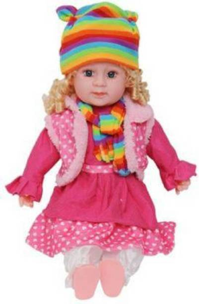 Kmc kidoz excellent Soft Baby Poem Doll for Girls