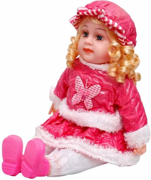 Kmc kidoz Poem Doll Singing for Kids Multicolor Multicolor
