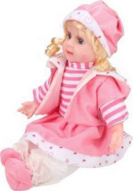 Kmc kidoz Poem Baby Girl Doll Battery Operated for Girls
