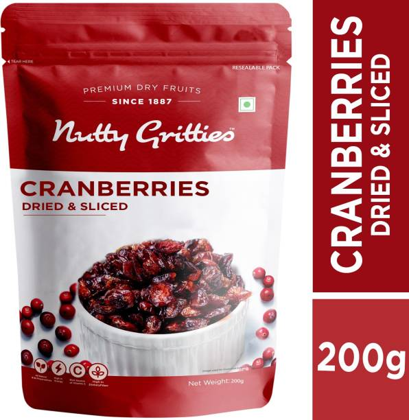 Nutty Gritties US Dried Sliced Cranberries