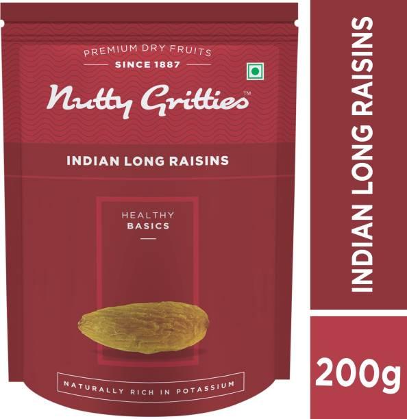 Nutty Gritties Indian Long Green Raisins
