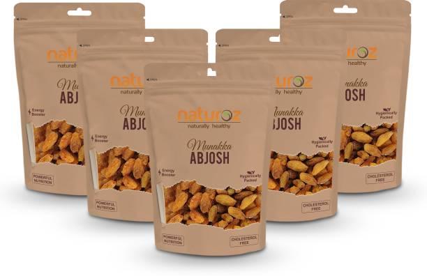 Naturoz Abjosh Munakka Extra Select (Pack Of 5) Raisins