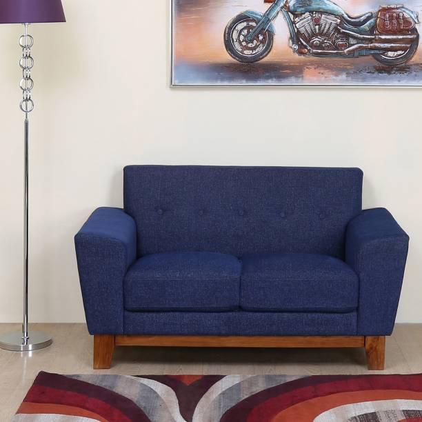 @Home by nilkamal Budapest Fabric 2 Seater  Sofa