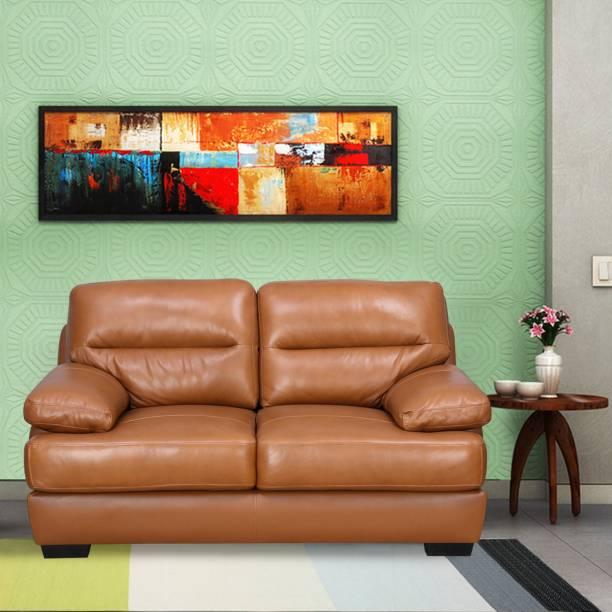 @Home by nilkamal Henders Fabric 2 Seater  Sofa