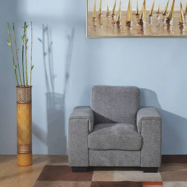 @Home by nilkamal Leah Fabric 1 Seater  Sofa